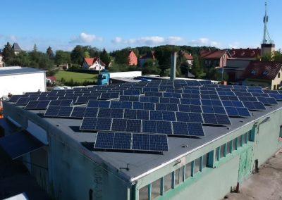 na dachu płaskim konstrukcje ekierka dwugwintowa