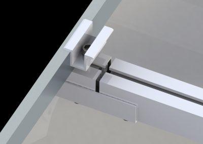Konstrukcja fotowoltaiczna dach płaski ekierki inwazyjne 3