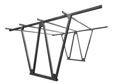 Konstrukcja fotowoltaiczna gruntowa CarPort wiaty