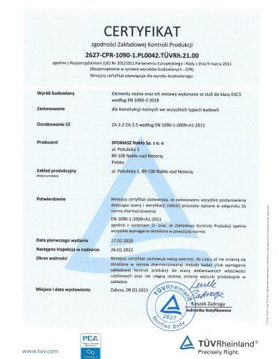 Certyfikat FPC